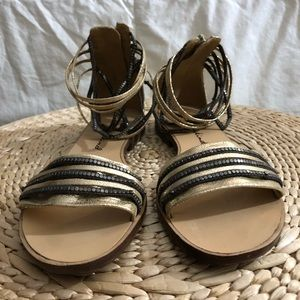 7 for all Mankind - strappy sandal -size 7.5